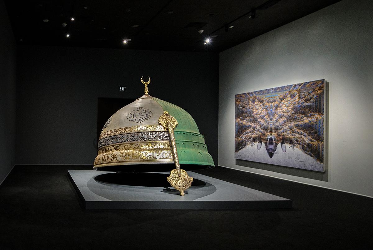 Abdulnasser-Gharem-pause-LACMA-Hemisphere-sculpture.jpg