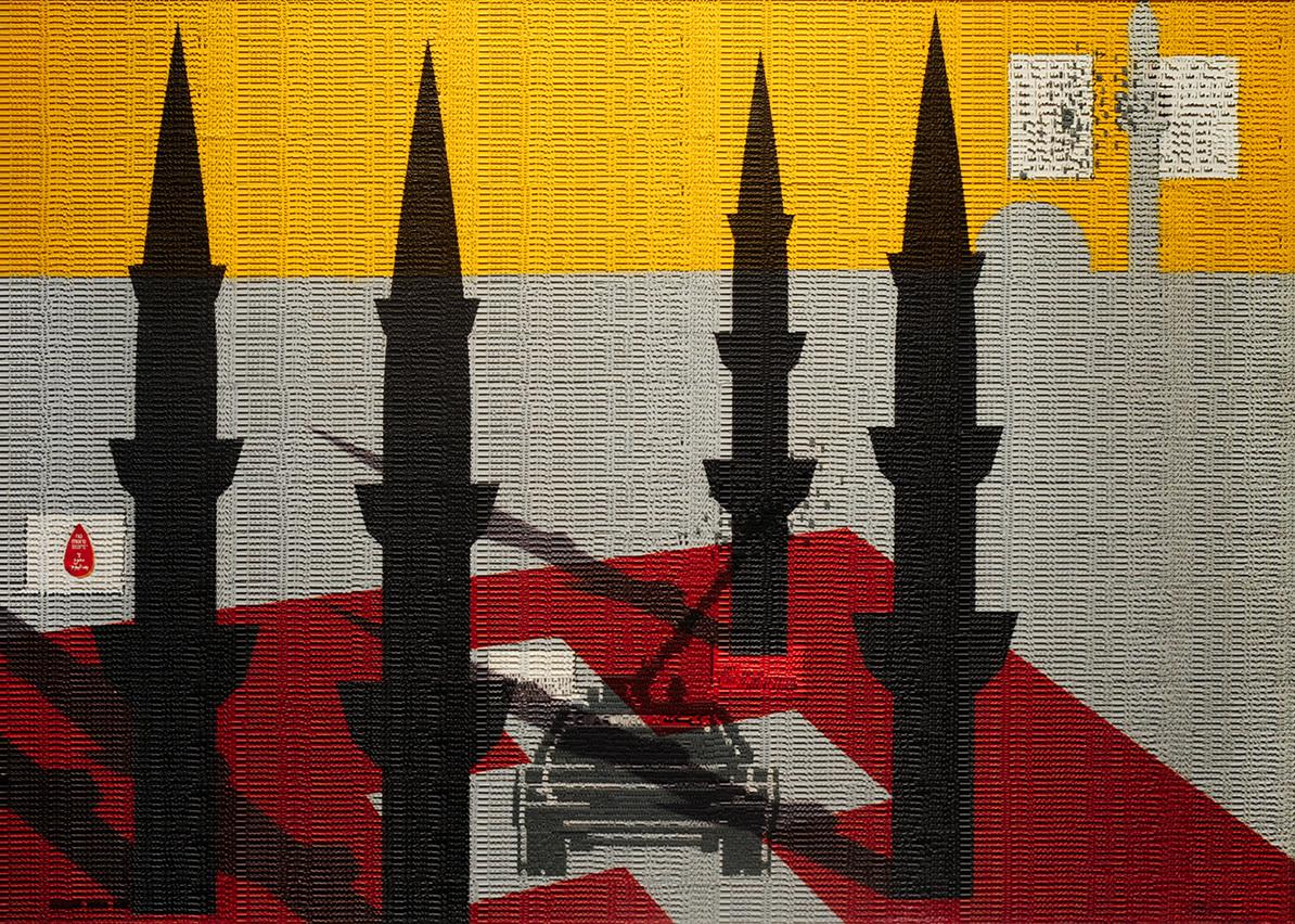 Abdulnasser Gharem Artwork Generation Kill Hero