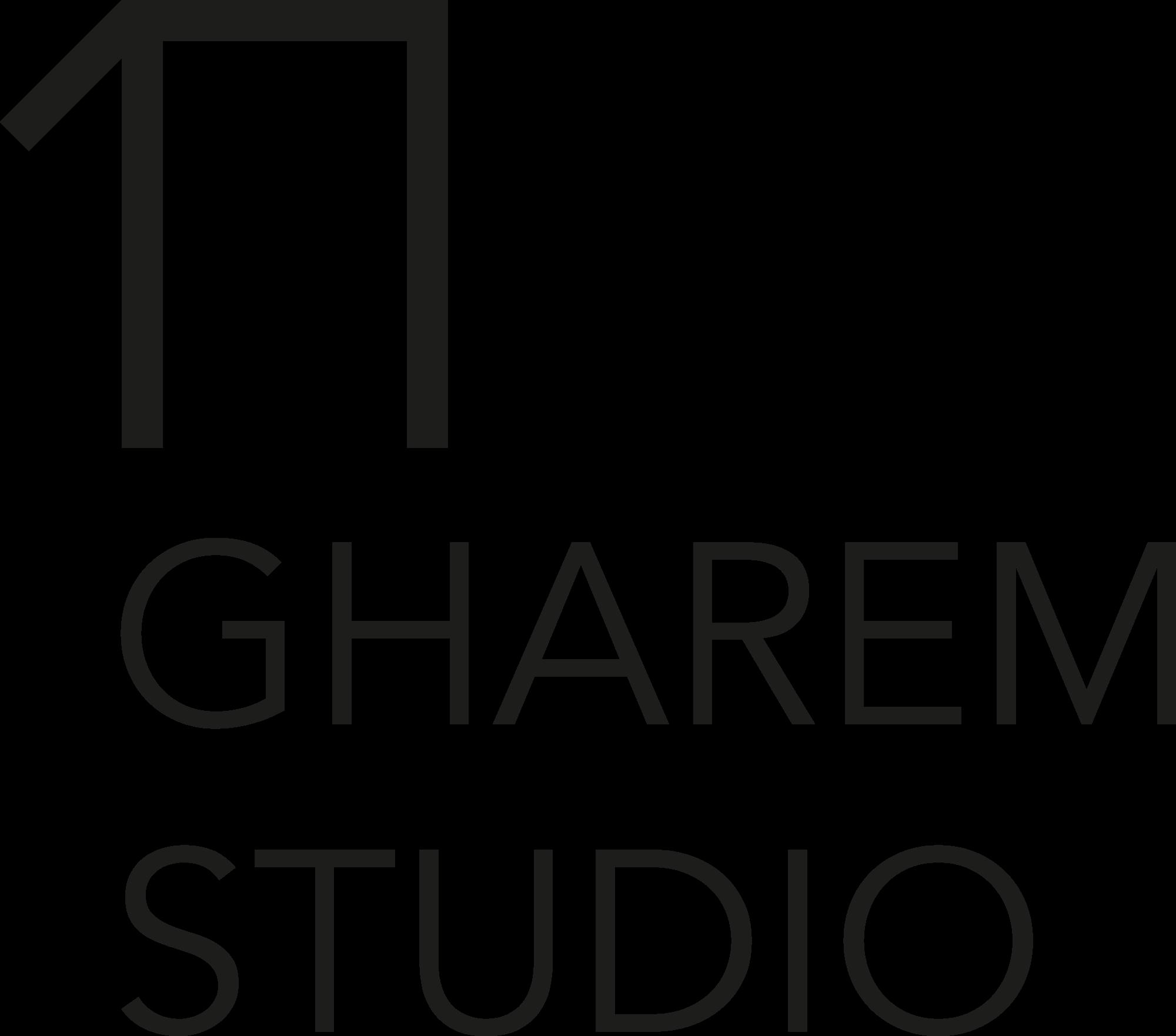 Gharem Logo Black